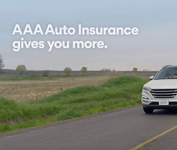 A screenshot from the AAA Auto Insurance advertisement
