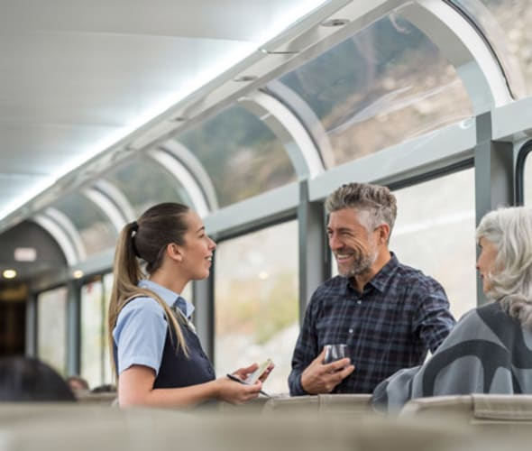 rocky mountaineer silver leaf service