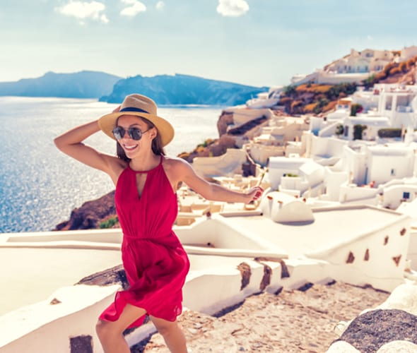 A AAA Member travels to the Greek Isles
