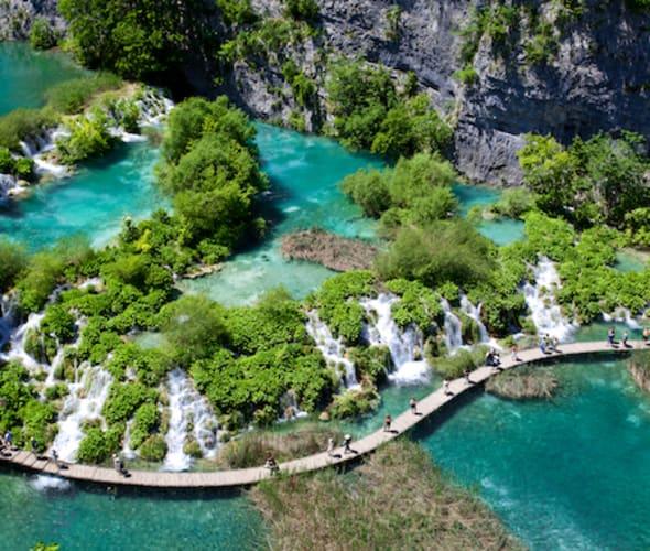 plitvice lake in croatia