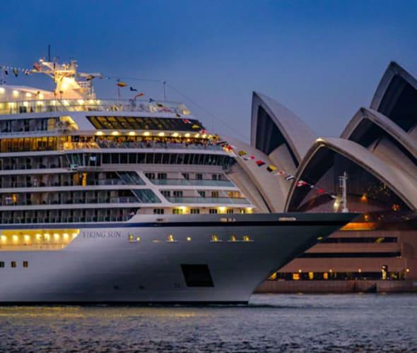 viking sun in sydney australia