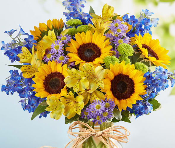 bouquet of flowers from 1-800flowers.com