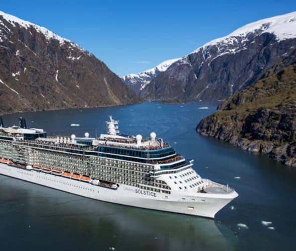 celebrity cruise ship in alaska
