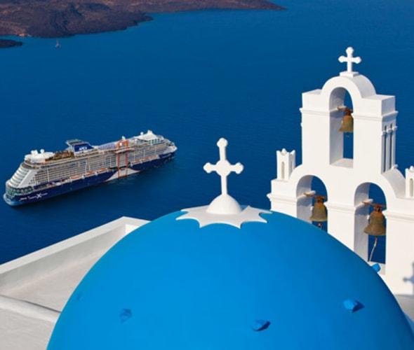 celebrity cruise ship in greece