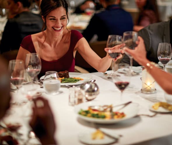 celebrity cruises guests in main dining room