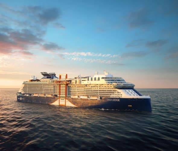 celebrity cruises edge at sea