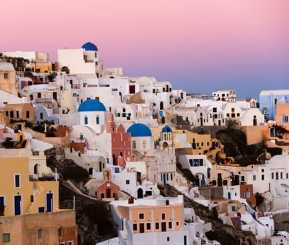 celebrity cruises visit santorini grece