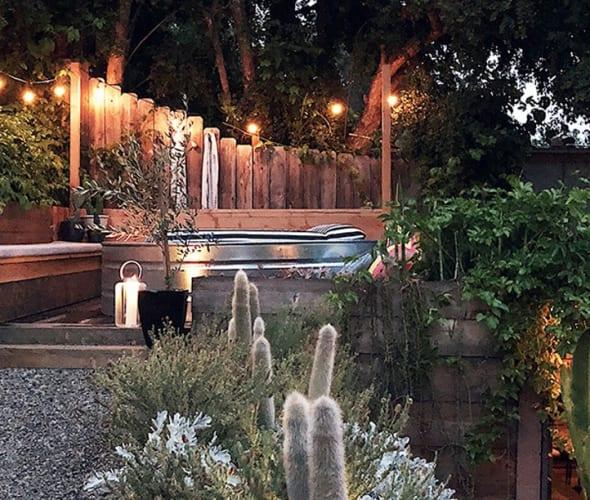 AAA Member's beautiful backyard