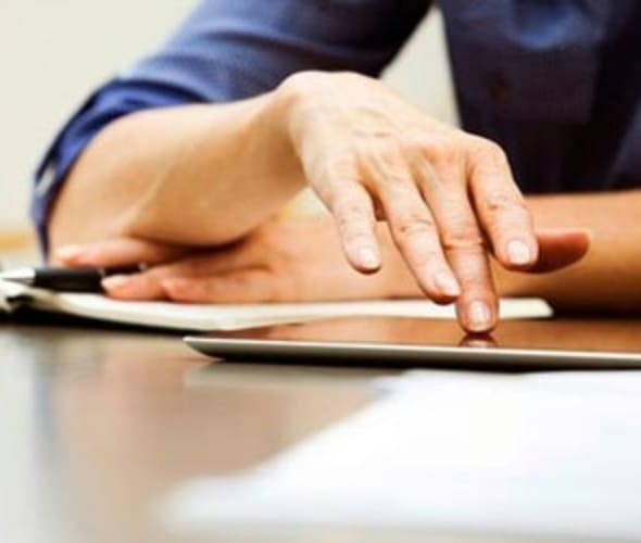 a aaa auto care customer reviews paperwork on a desk