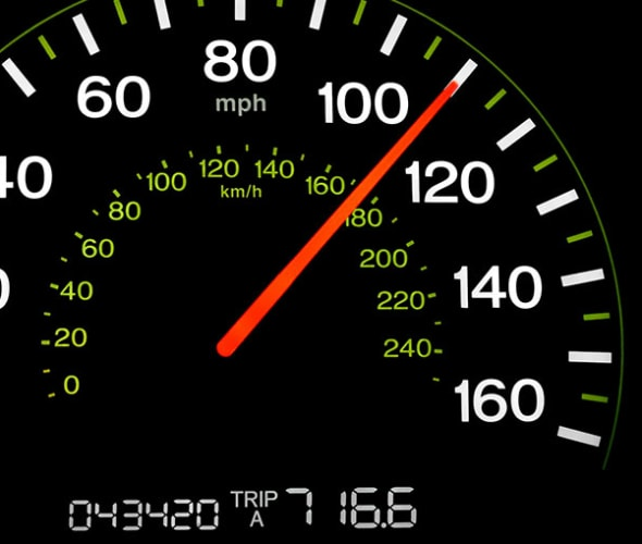 the odometer on a car insured by AAA