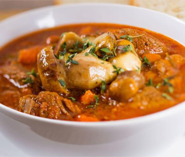 irish stew in a bowl