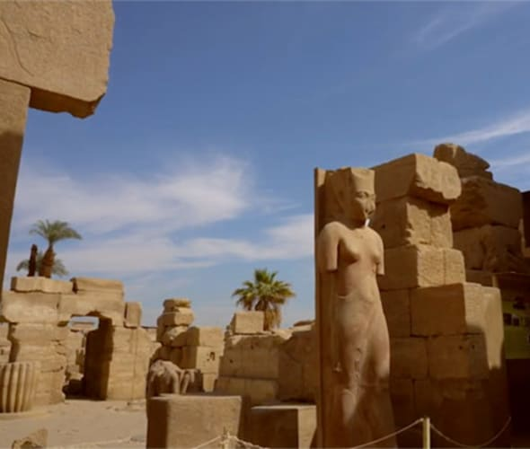 ruins in egypt