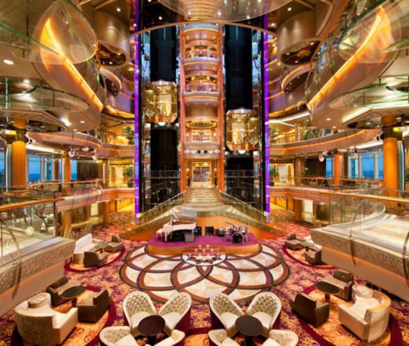 elevators on royal caribbean ship
