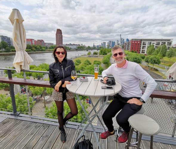 couple on u by uniworld river cruises shore excursion