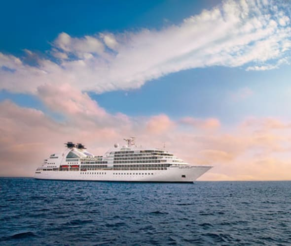 seabourn quest at sea