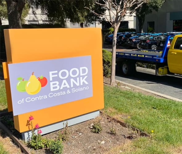 AAA supports local food banks during the covid-19 pandemic.