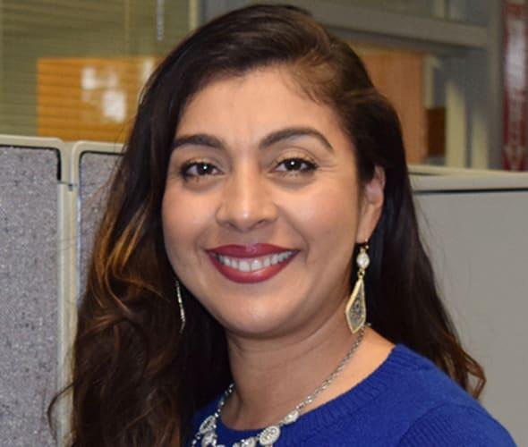 Headshot of Isabel Guadarrama Barcelos, Insurance Agent at AAA NCNU