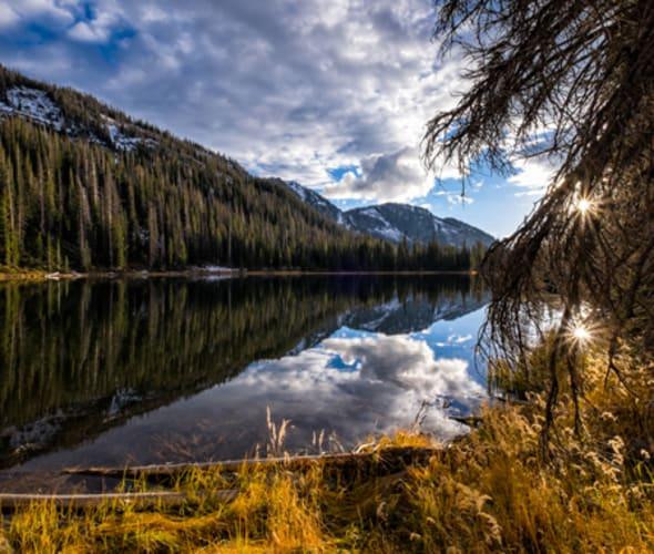 lake in steamboat springs colorado
