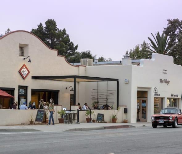 East Ojai Avenue in Ojai, California.