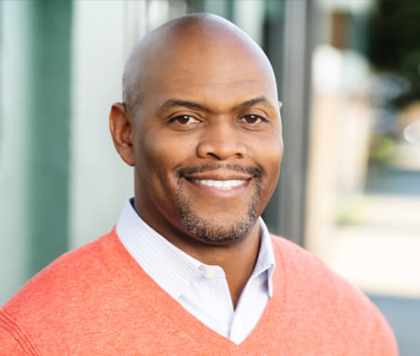 Photo of AAA NCNU Executive Vice President, Chief Call Center Officer, Shawn Jones Bruce Burroughs