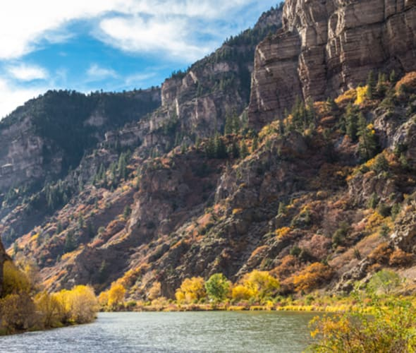 rockies to the red rocks journey passes through glenwood springs