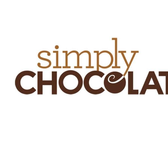 simply chocolate logo