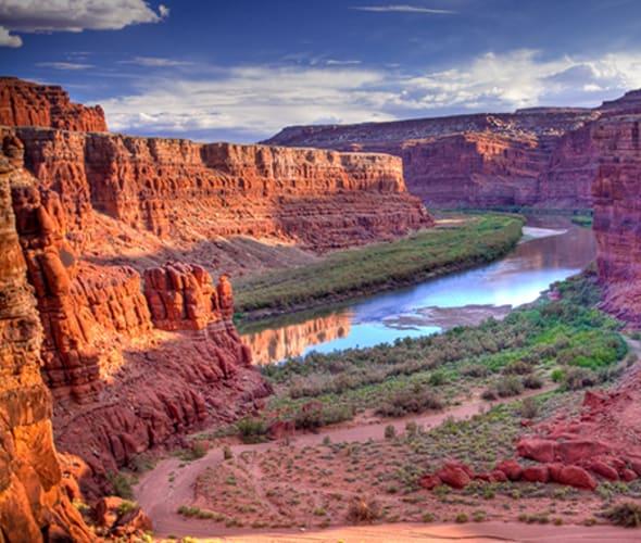 canyonlands national park near moab