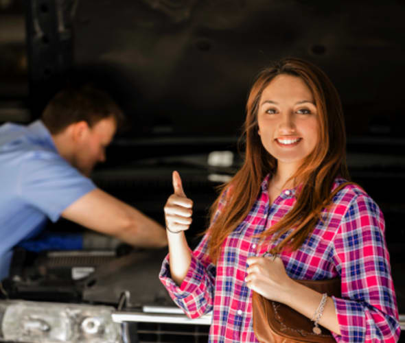 a aaa member saves on car repair with aaa discount