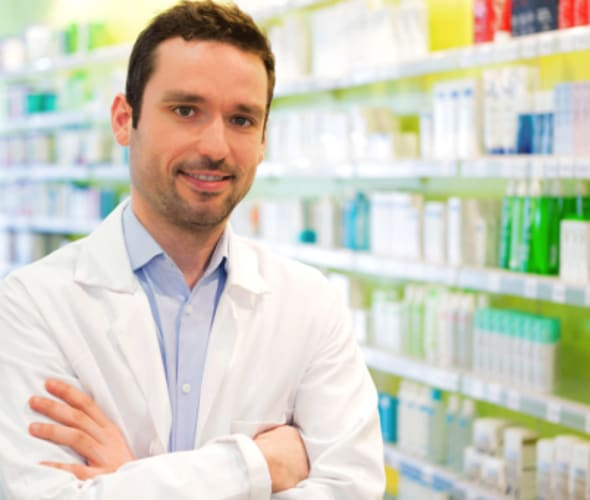 a pharmacist is ready to help aaa members save on prescriptions