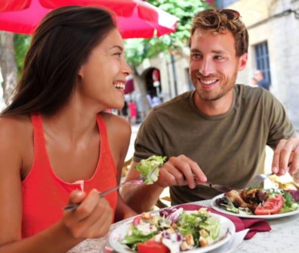 AAA members eating al fresco saves on restaurant tabs