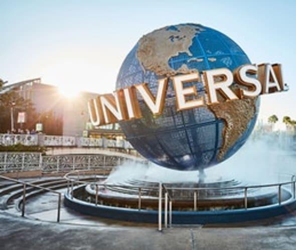 Universal Orlando Resort globe in Florida