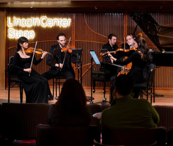 lincoln center live performance on holland america line