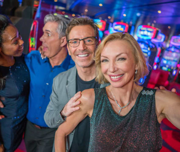 guests in casino on carnival cruise line