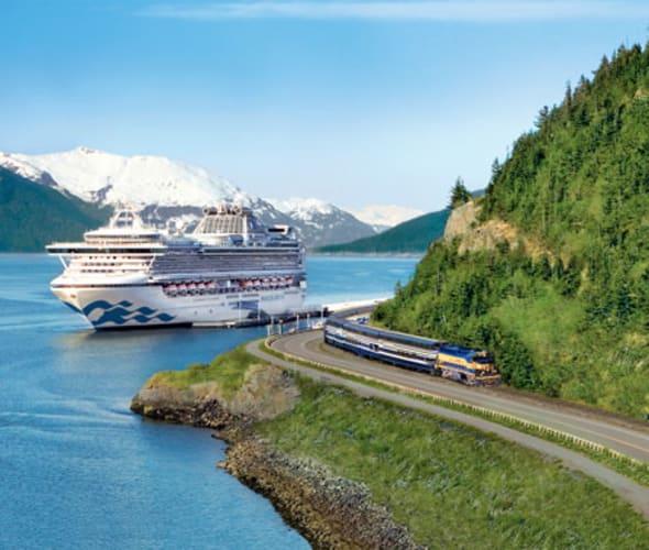princess cruise ship in alaska