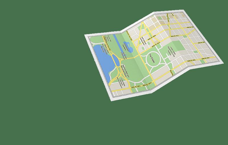 AAA Member's map of Washington, DC